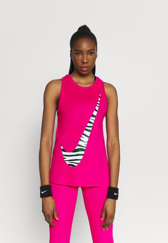 DRY TANK ICON CLASH - T-shirt sportiva - fireberry