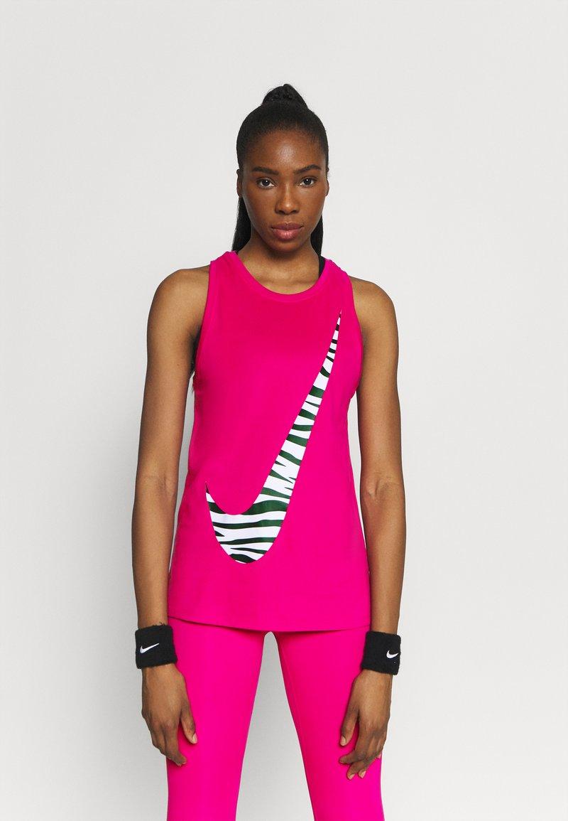 Nike Performance - DRY TANK ICON CLASH - Camiseta de deporte - fireberry