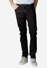 ALBERTO Pants - Slim fit jeans - black - 0