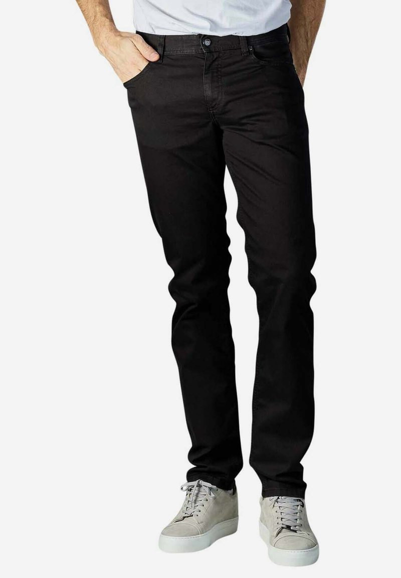 ALBERTO Pants - Slim fit jeans - black