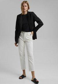Esprit - Straight leg jeans - off white - 1