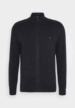 PIMA ZIP THROUGH - Strikjakke /Cardigans - black