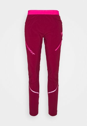 TRANSALPER HYBRID - Trousers - beet red