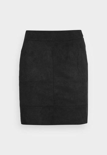 ONLJULIE BONDED SKIRT - Mini skirt - black
