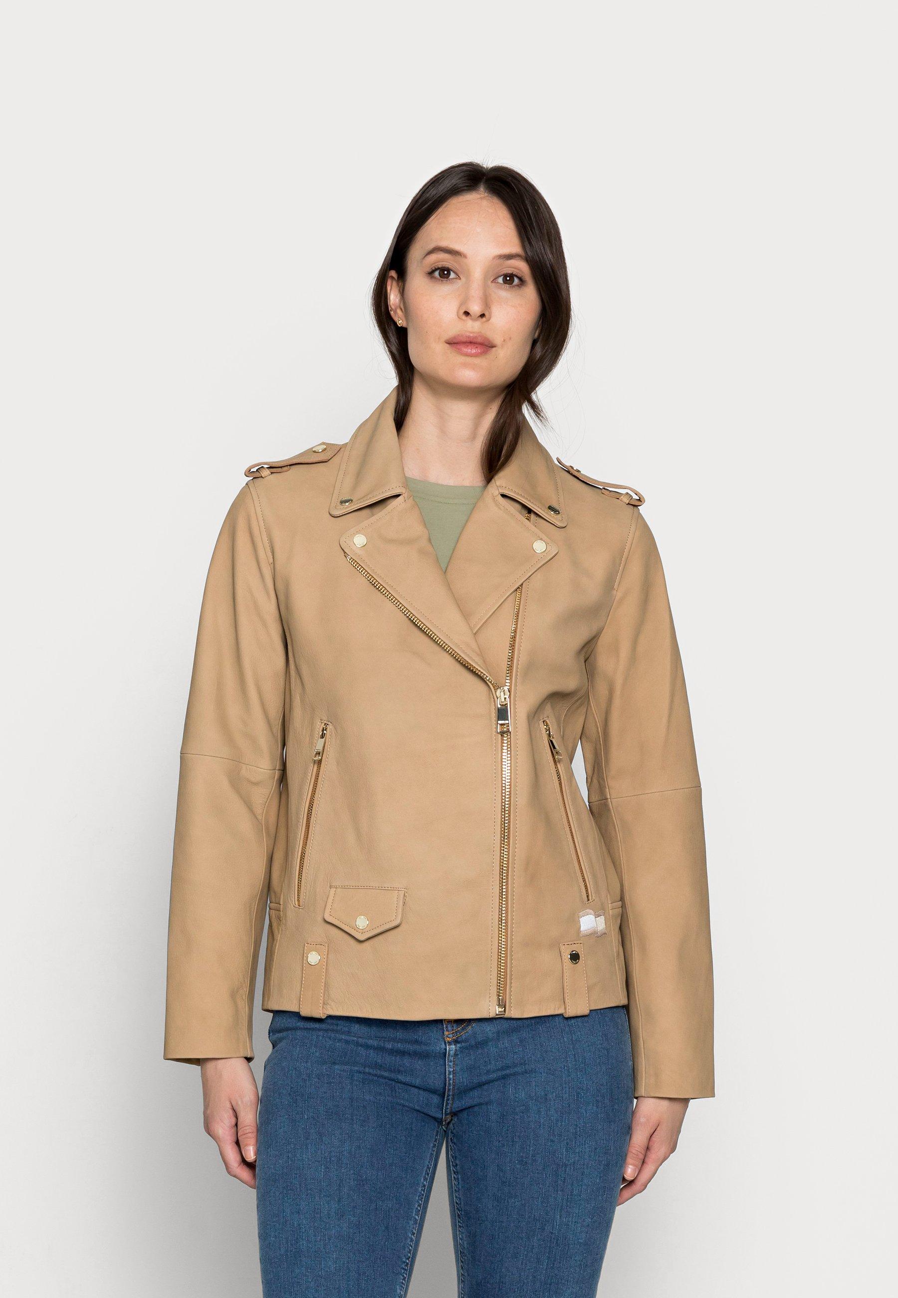 Women ICON SUEDE BIKER JACKET - Leather jacket