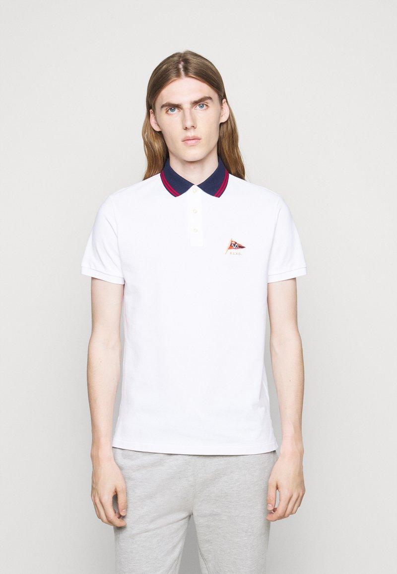 Polo Ralph Lauren - BASIC - Pikeepaita - white