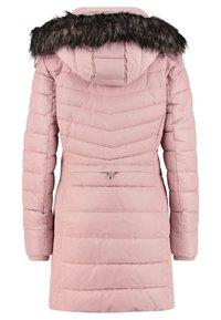 TOM TAILOR - MIT KAPUZE - Winter coat - light pink - 1