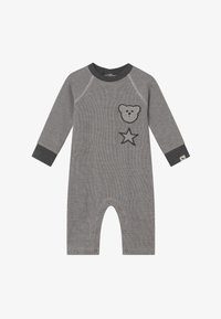 Turtledove - BADGED COSY PLAYSUIT BABY - Jumpsuit - grey - 2