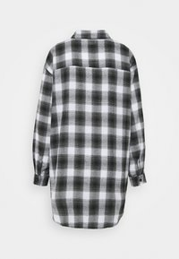 Missguided - BRUSHED OVERSIZED BASIC - Button-down blouse - grey - 1