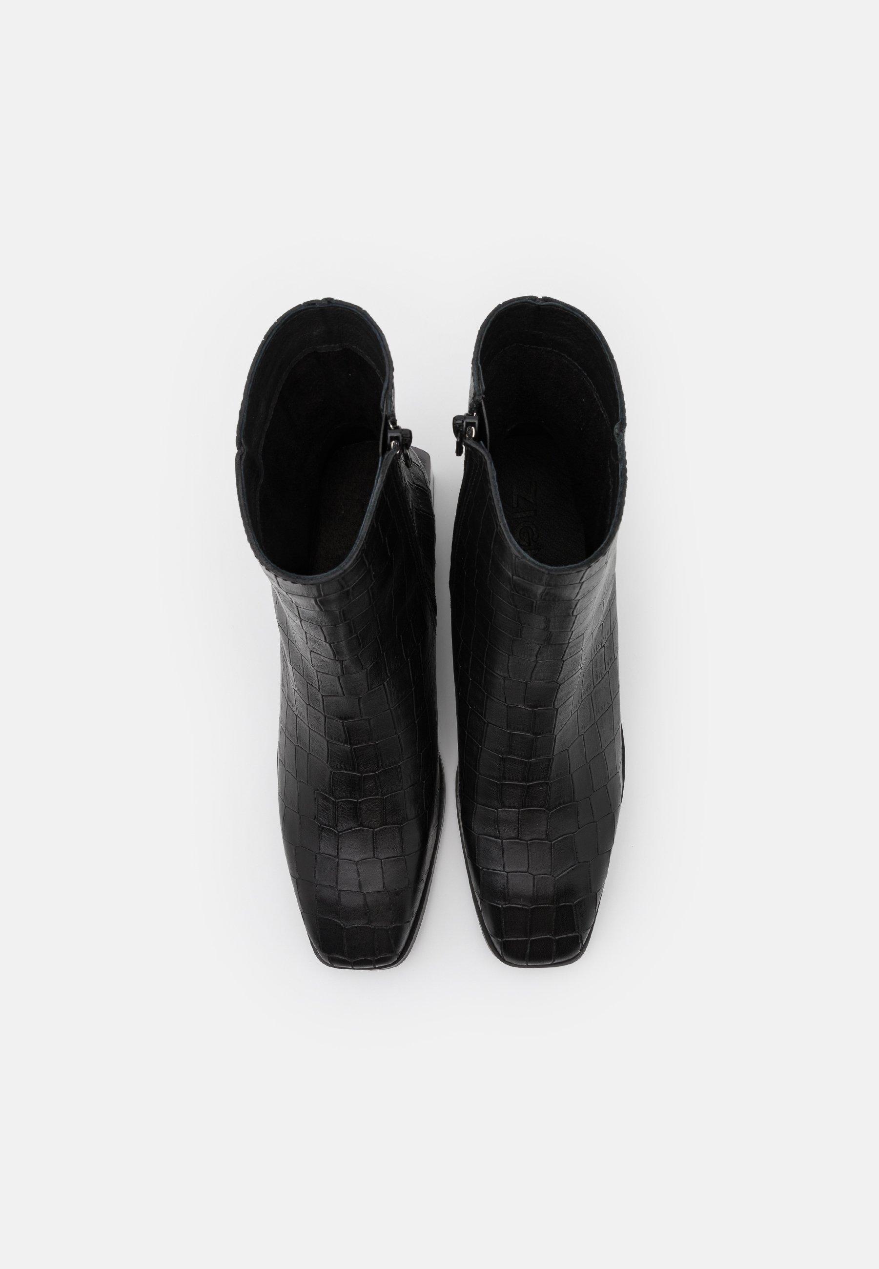 Zign Stiefelette black/schwarz