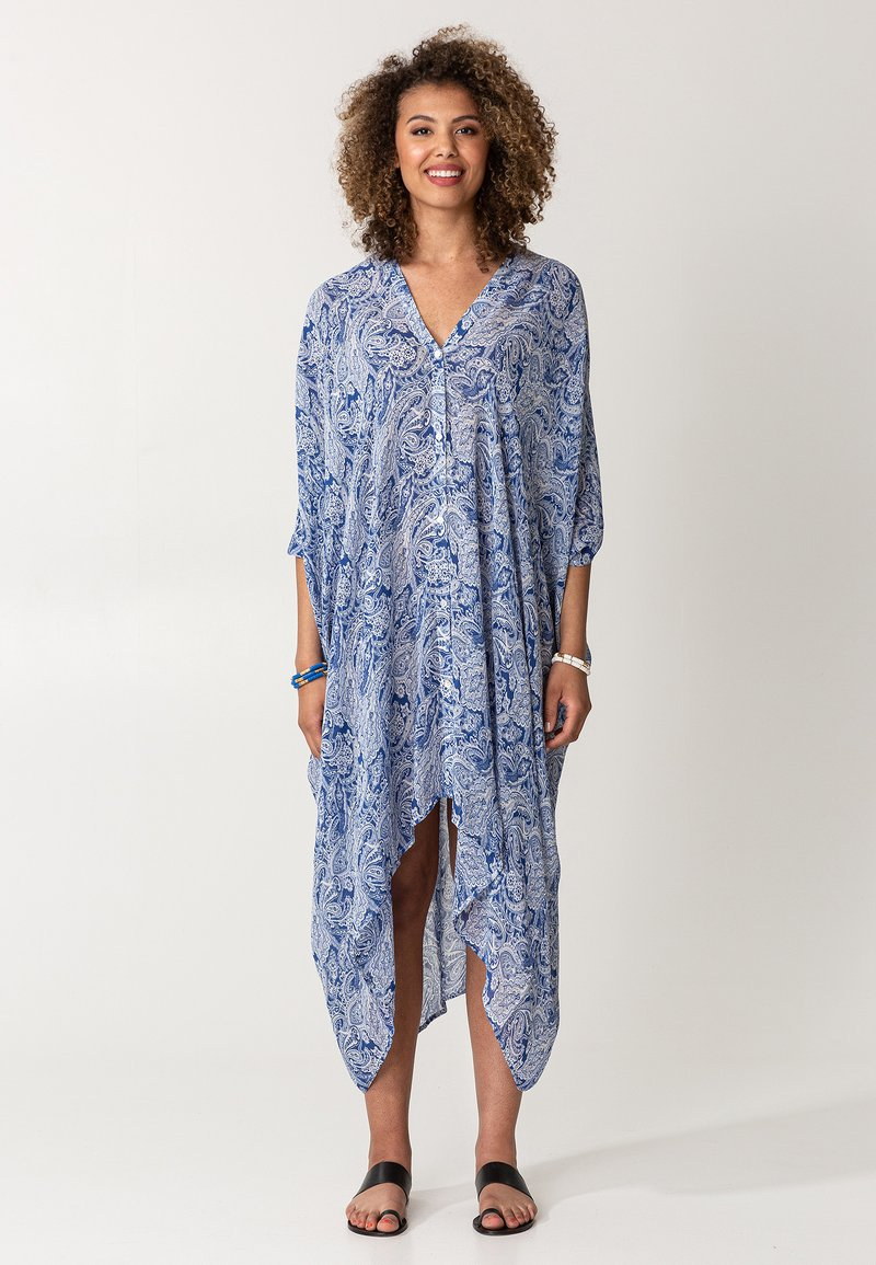Indiska - PINEAPPLE - Maxi dress - blue
