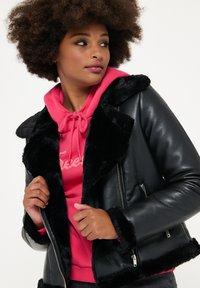 LolaLiza - Faux leather jacket - black - 3