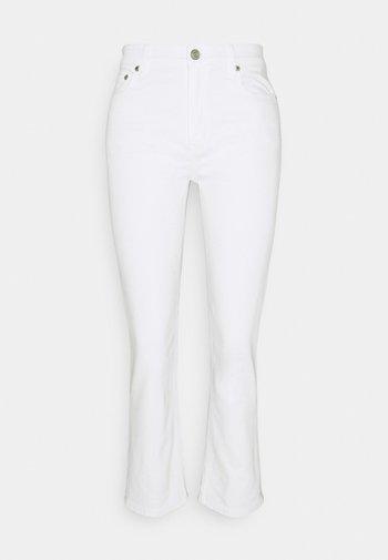 Straight leg jeans - white wash