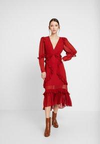 Thurley - PLUM DRESS - Suknia balowa - dried chilli - 2