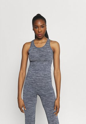 ESSENTIAL SEAMLESS RACERBACK - Top - midnight blue melange