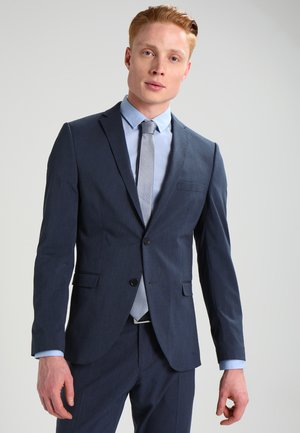 SHDNEWONE MYLOLOGAN SLIM FIT - Traje - medium blue melange