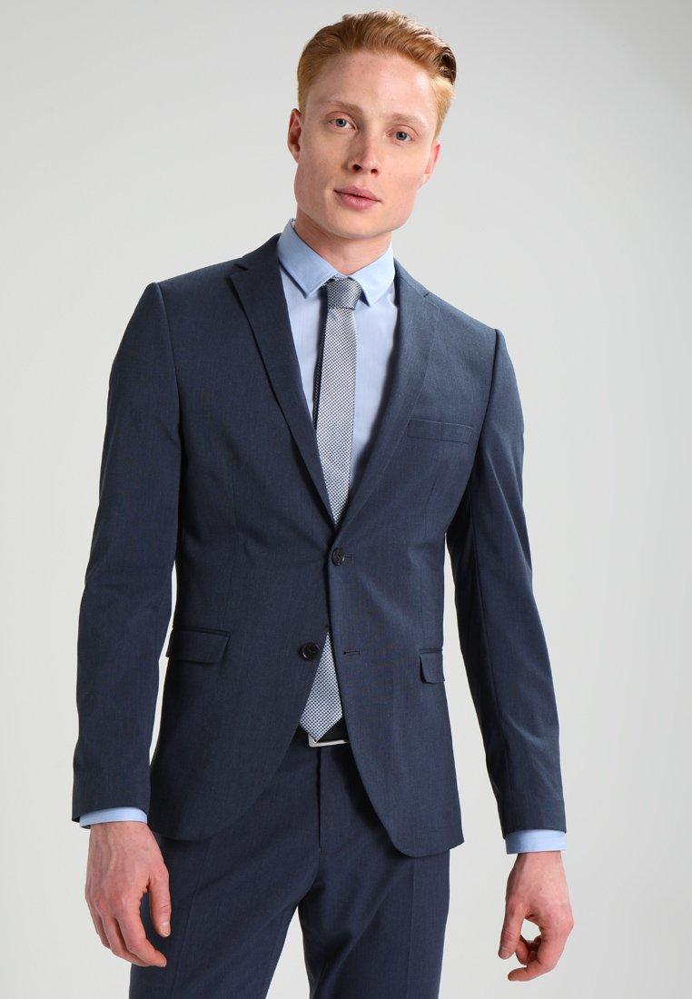 Selected Homme - SHDNEWONE MYLOLOGAN SLIM FIT - Completo - medium blue melange