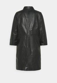 Kaffe - KAJANELLE DRESS - Shirt dress - black deep - 1