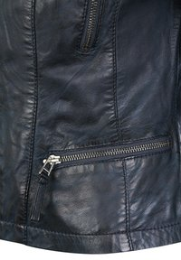 7eleven - SYDNEY - Leather jacket - navy - 3