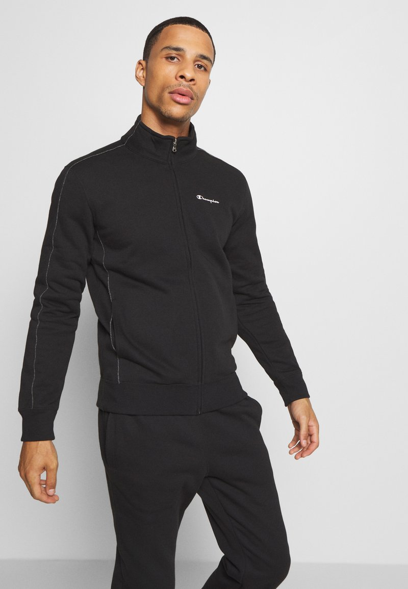 Champion - LEGACY FULL ZIP SUIT - Träningsset - black