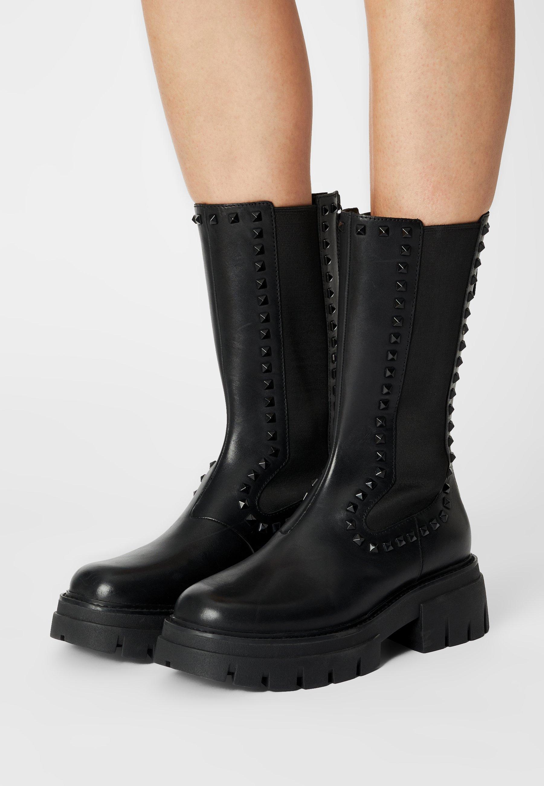 Women LENNOX STUDS - Platform boots