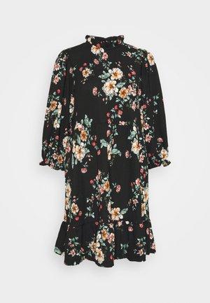ONLZILLE NAYA HIGHNECK DRESS  - Vapaa-ajan mekko - black