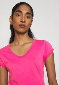 G-Star - CORE EYBEN SLIM - Basic T-shirt - rebel pink - 3