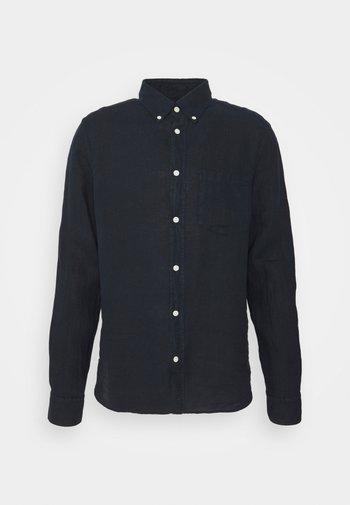CLEAN SLIM - Shirt - navy