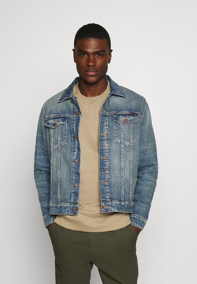 Nudie Jeans - JERRY - Denim jacket - light blue denim
