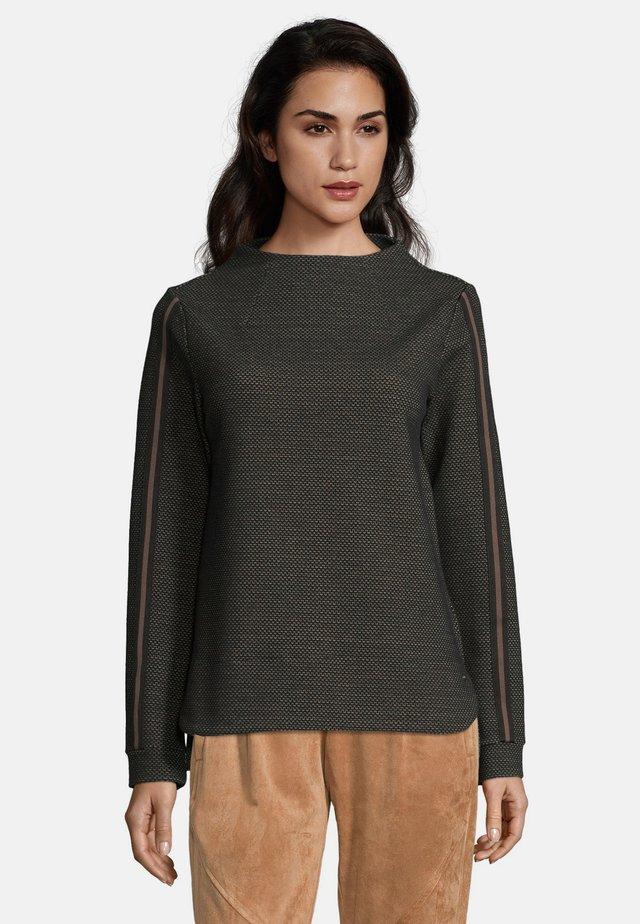 MIT STEHKRAGEN - Sweatshirt - black-nature
