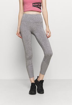 LINED - Leggings - mid grey marle