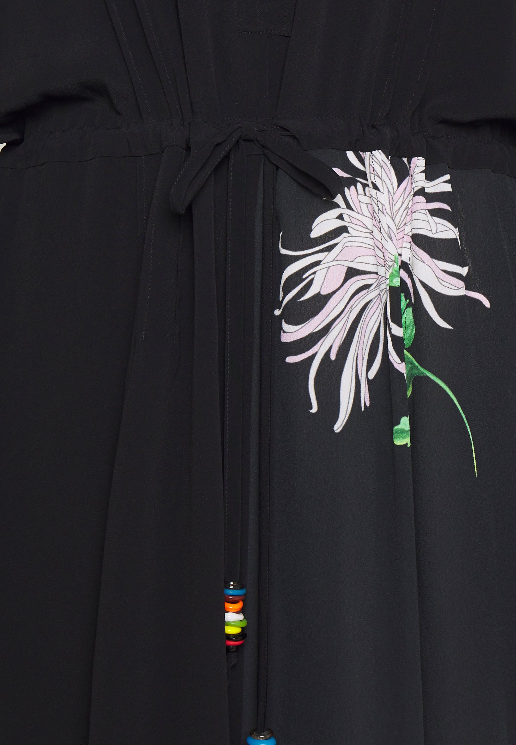 N°21 Blusenkleid nero/schwarz
