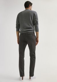 Massimo Dutti - SLIM FIT - Chinos - dark grey - 2