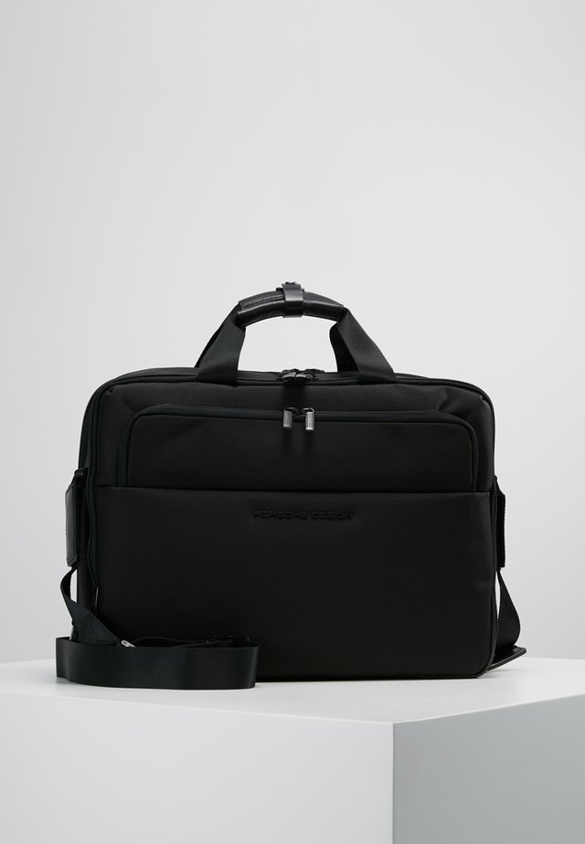 ROADSTER BRIEFBACG - Salkku - black