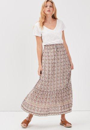 Falda acampanada - blanc