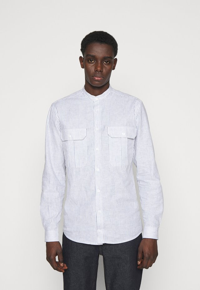 RALF STRIBED CHINA  - Shirt - grey mist