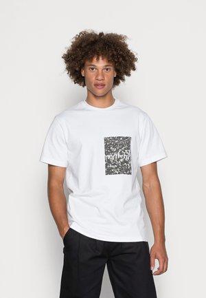 CROWD TEE - T-shirt print - white