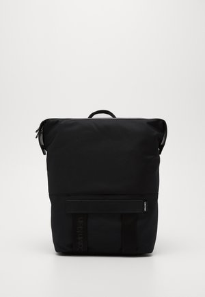 NASTRO LOGO TRAPEZEE BACKPACK - Rucksack - black