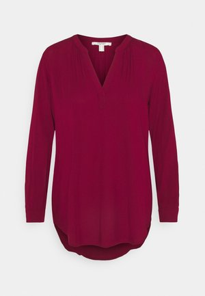 CORE FLUID  - Blouse - bordeaux red