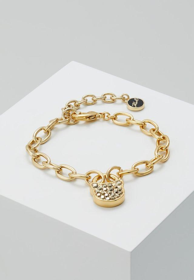 SMALL CHOUPETTE LOCK KEY  - Bransoletka - gold-coloured