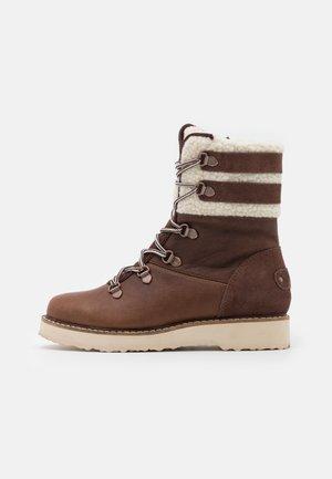 BRANDI - Snowboots  - chocolate