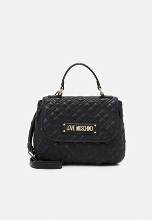 QUILTED TOP HANDLE BUSINESS BAG - Handbag - nero