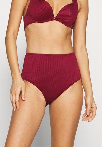GOLDEN RINGS RIO - Bikini bottoms - red