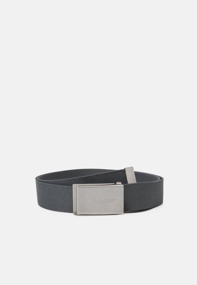 BROOKSTON UNISEX - Pásek - charcoal grey