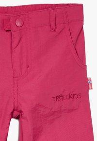 TrollKids - KIDS HAMMERFEST PRO SLIM FIT - Kalhoty - rubine red - 3
