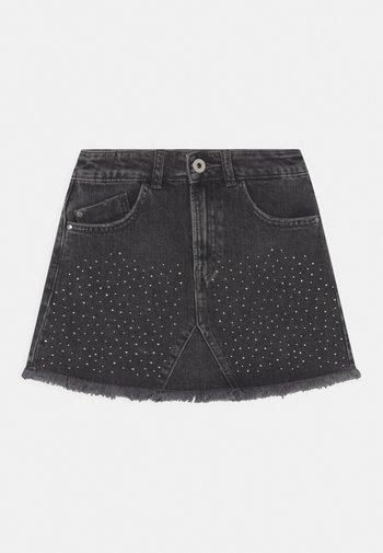 BRITNEY - Mini skirt - denim