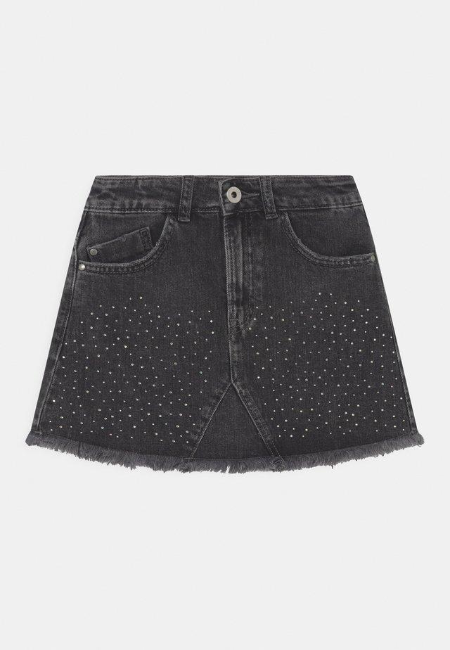 BRITNEY - Minifalda - denim