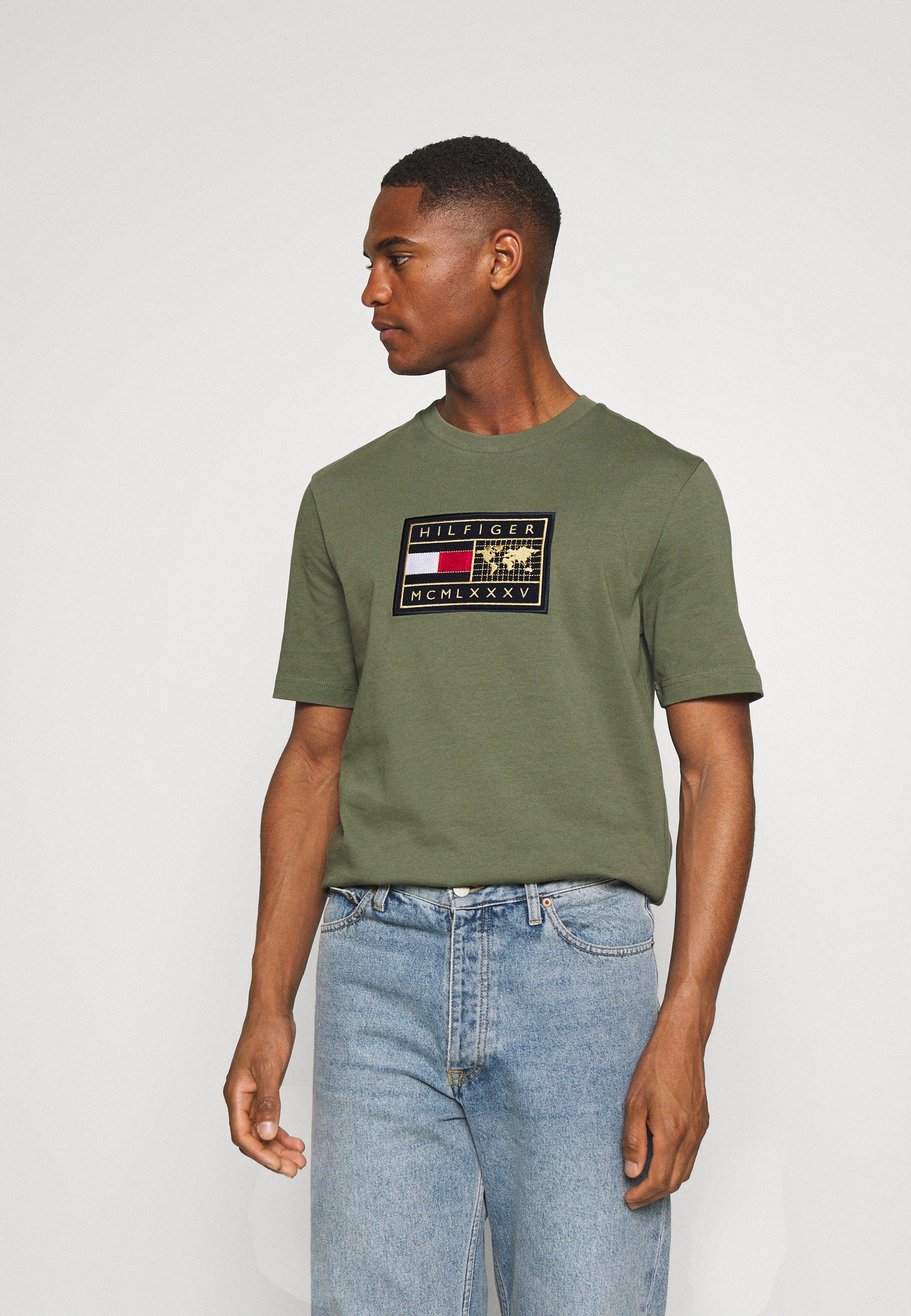 Men ICON EARTH BADGE TEE - Print T-shirt