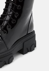 The Kooples - BOTTINE  - Lace-up ankle boots - black - 4