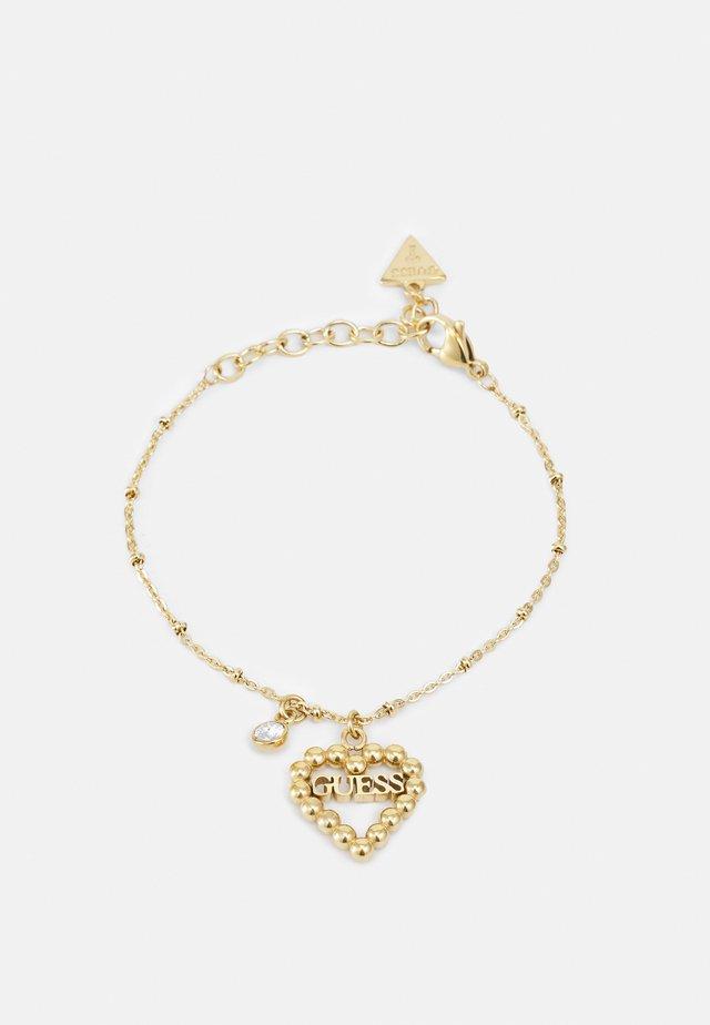 HEART ROMANCE - Bracelet - gold-coloured